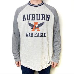 UNDER ARMOUR Auburn War Eagle Graphic Tee Sleeves